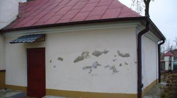 kościół przed renowacją