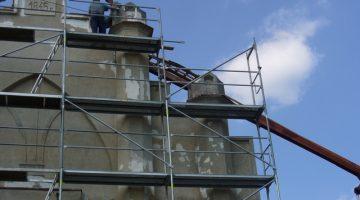 prace renowacyjne – 8 maja 2009