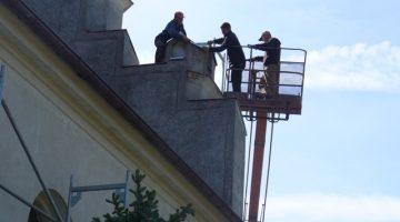 prace renowacyjne – 15 maja 2009