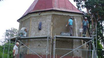 renowacja kaplicy w Borkach – 28 sierpnia