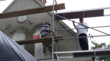 renowacja kaplicy w Borkach – 3 września 2009