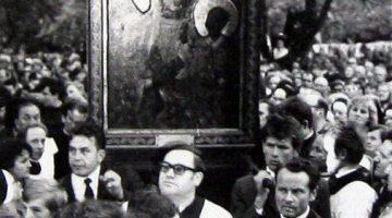 Inauguracja peregrynacji z roku 1974