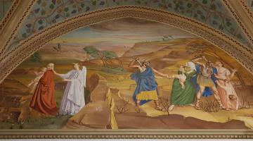 Msza św. w domu narodzin św. Jana Chrzciciela w Ain Karem