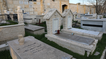 Ekumeniczne nabożeństwo na katolickim cmentarzu w Jerozolimie – pielgrzymka do Ziemi Świętej 2018