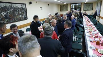Spotkanie opłatkowe w łódzkiej Izbie Rzemieślniczej