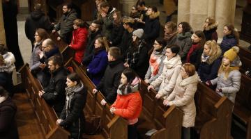 Szkoła Modlitwy #2 – Adwentowe Rekolekcje dla studentów z abp. Rysiem