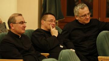 Spotkanie opłatkowe Duszpasterstwa Pracowników Nauki Archidiecezji Łódzkiej