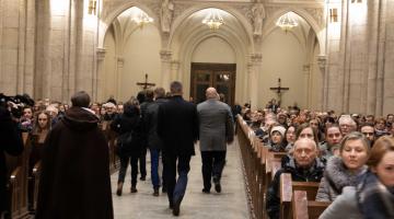 Abp Ryś do katechumenów: to nie my wybieramy Pana, to On nas odwiecznie wybiera!