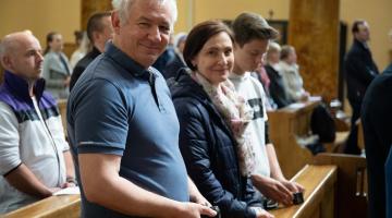Jubileusz 15-lecia Szkoły Kontemplacji i Ewangelizacji Dzieci Światłości w Łodzi
