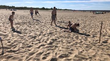 Bełchatowscy ministranci na wakacjach w Mikoszewie