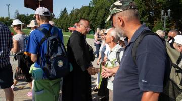 Pątnicy z 94. Pieszej Pielgrzymki Łódzkiej dotarli na Jasną Górę