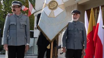 Poświęcenie tablicy ku czci Legionistów Marszałka Piłsudskiego