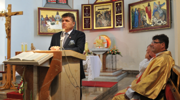 IV Pielgrzymka Strażaków Archidiecezji Łódzkiej i Województwa Łódzkiego w Wieluniu