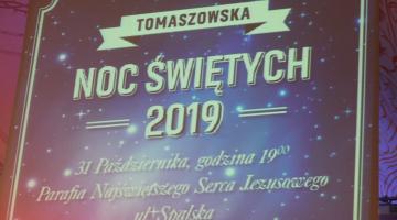 """""""Noc Świętych 2019"""" w Tomaszowie Mazowieckim"""