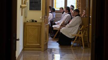 Odpust św. Stanisława Kostki w łódzkim Seminarium Duchownym