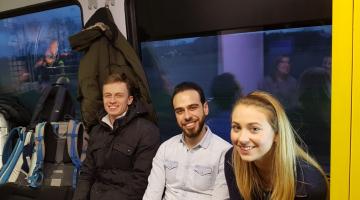 Młodzi z Łodzi w drodze do Wrocławia na Taize