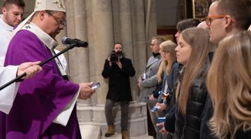 Abp Ryś do katechumenów: dajcie się Bogu uratować!