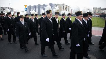 Bełchatowscy górnicy uczcili Świętą Barbarę