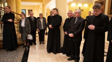 Spotkanie opłatkowe duchowieństwa Archidiecezji Łódzkiej
