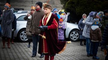 Pabianice: Orszak Trzech Króli 2020