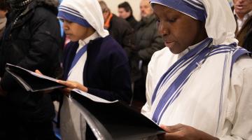 Bierzmowanie u Sióstr Misjonarek Miłości