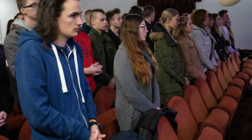 Zakończenie rekolekcji dla maturzystów w Łasku