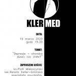 KLER-MED - depresja - choroba duszy czy ciała?