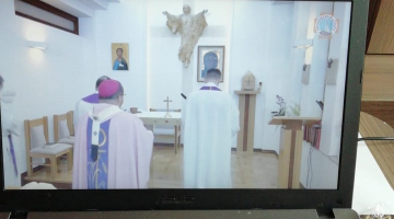 Domowa Msza św. z arcybiskupem Grzegorzem