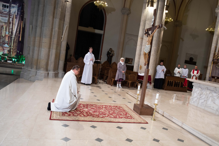 Liturgia Męki Pańskiej w Archikatedrze Łódzkiej