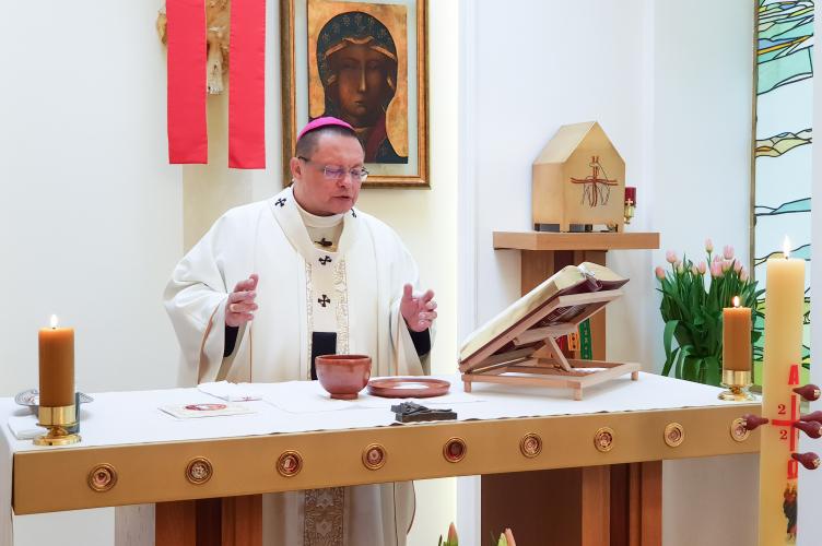 Abp Ryś: na ile macierzyństwo Maryi przenosi się na relacje między nami we wspólnocie narodowej?