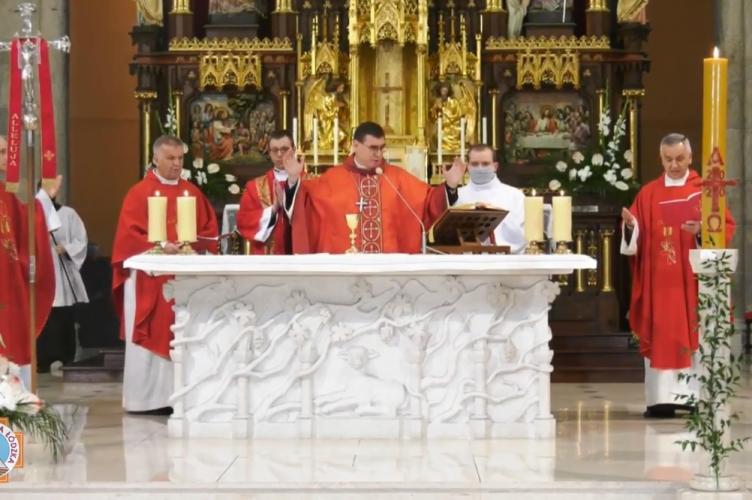 Bp Marczak: Duch Św. jest dany każdemu, kto woła o Niego | Uroczystość Zesłania Ducha Św.