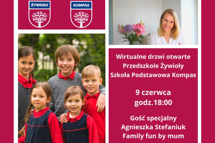 Przedszkole Żywioły i Szkoła Podstawowa Kompas – zapraszają!