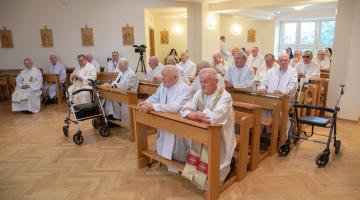 Jubileusz 50/60 lat kapłaństwa w Domu Księży Emerytów – 2020