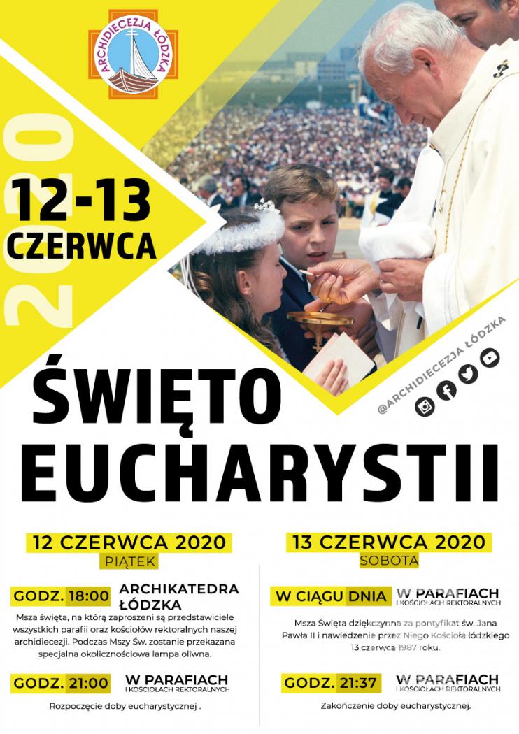 Abp Ryś: Pozdrawiam Was w imię Eucharystii, z której buduje się Kościół!