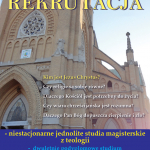 Studia magisterskie niestacjonarne z teologii - rekrutacja