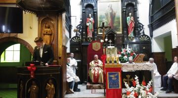 Bierzmowanie w parafii Dobrego Pasterza w Łodzi