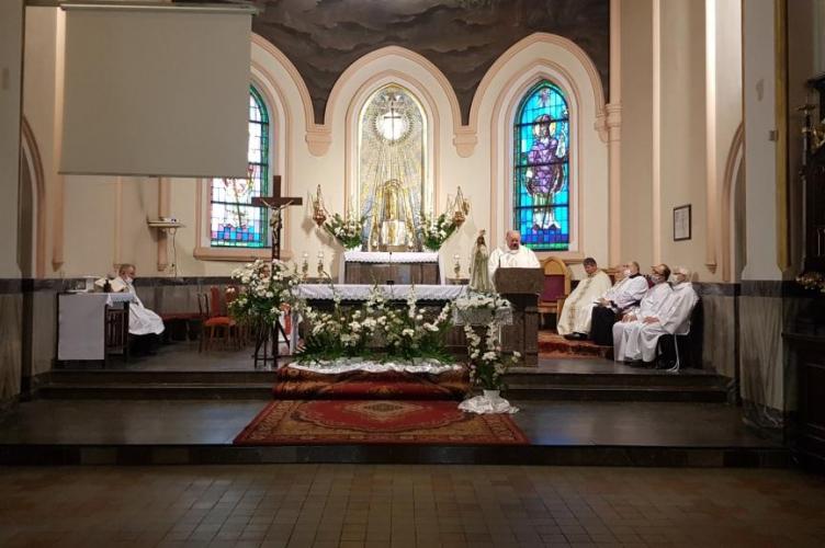 Odpust w parafii Przemienienia Pańskiego w Łodzi
