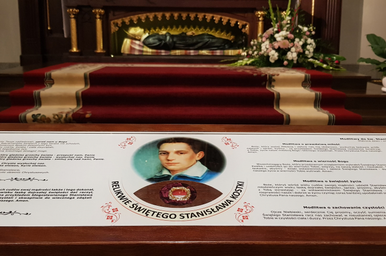 Uroczystość ku czci Św. Stanisława Kostki