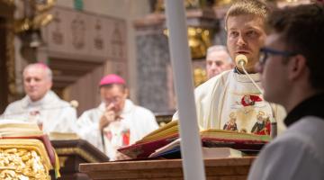 Arcybiskup Grzegorz wygłosił rekolekcje dla księży kaliskich
