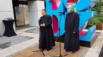 Nagroda Papieża Franciszka   konferencja prasowa   Łódź 2020