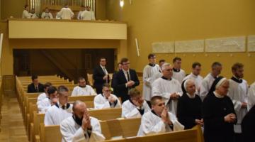 Admissio alumna Ogólnopolskiego Seminarium dla Starszych Kandydatów do święceń – 2020