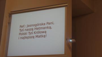 """Jubileuszowe """"annuntio"""" w parafii Matki Boskiej Jasnogórskiej w Łodzi – 2020"""