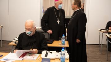 Rozpoczął się drugi dzień 387. Zebrania Plenarnego Episkopatu