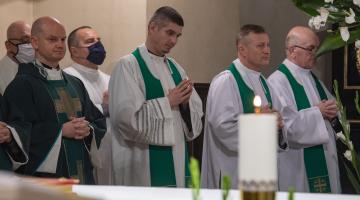 Msza św. w 9 rocznicę śmierci ks. inf. Stanisława Grada