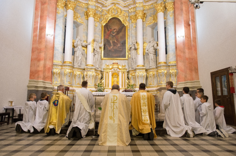 Łask: Ku czci św. Michała Archanioła