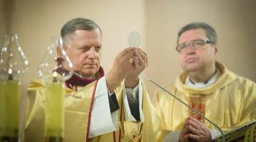 Wprowadzenie relikwii abp. Bilczewskiego do parafii Najświętszego Zbawiciela | Łódź 2020