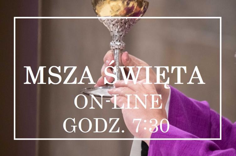 Msza św. on-line z abp. Grzegorzem Rysiem – godz. 7:30