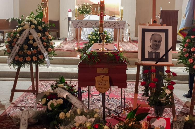 Pożegnanie ks. Leszka Kaczora