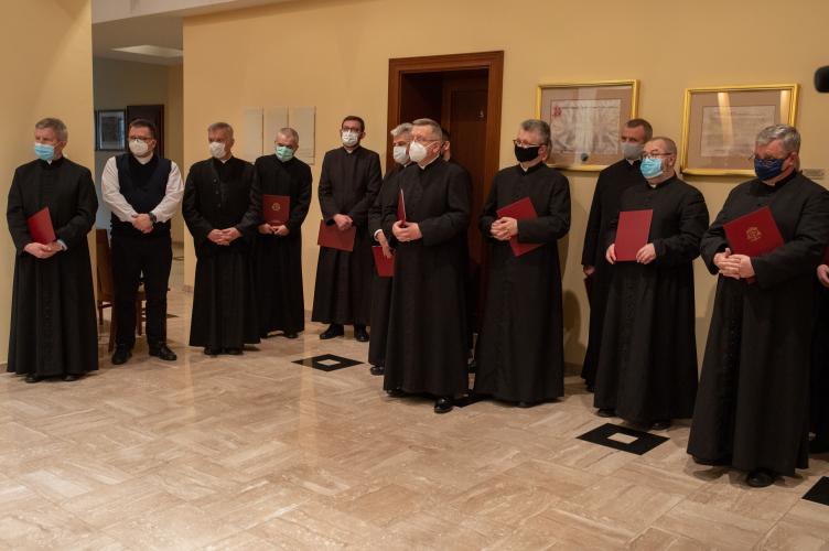 Nowi kanonicy Archidiecezji Łódzkiej 2020