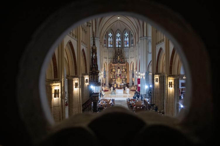 Otwarcie Drzwi Świętych w katedrze łódzkiej - 2020